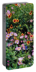 Primrose And Indian Blanket Portable Battery Charger