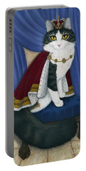 Prince Anakin The Two Legged Cat - Regal Royal Cat Portable Battery Charger