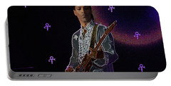 Prince At Coachella Portable Battery Charger