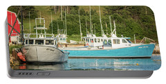 Prince Edward Island Lobaster Boats Portable Battery Charger