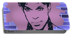 Prince Tribute Digital Art Portable Battery Chargers