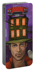 Prince Pro Image Portable Battery Charger by Leah Saulnier The Painting Maniac