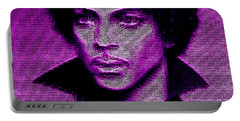 Prince - Tribute In Purple Portable Battery Charger