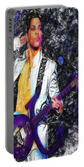 Prince - Tribute With Guitar Portable Battery Charger