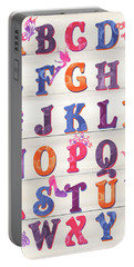 Princess Alphabet Portable Battery Charger