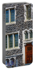 Portable Battery Charger featuring the photograph Princeton University Patton Hall No 9 by Susan Candelario