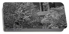 Portable Battery Charger featuring the photograph Princeton University Buyers Hall by Susan Candelario