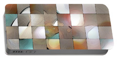 Portable Battery Charger featuring the digital art Prism 1 by Gina Harrison