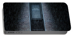Private Eye Door Outside Rain Portable Battery Charger