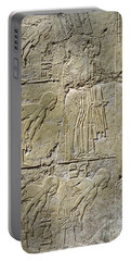 Private Tombs -painting West Wall Tomb Of Ramose T55 - Stock Image - Fine Art Print - Thebes Portable Battery Charger