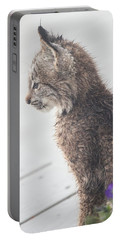 Profile In Kitten Portable Battery Charger
