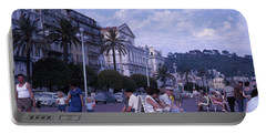 Promenade Des Anglais, Nice, France Portable Battery Charger