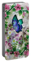 Promise Of Spring Portable Battery Charger by Maria Urso