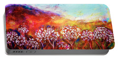 Portable Battery Charger featuring the painting Promise by Winsome Gunning
