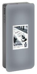 Portable Battery Charger featuring the digital art Promises by ReInVintaged