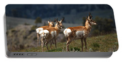 Pronghorns Portable Battery Charger