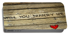 Portable Battery Charger featuring the photograph Propose To Me by Carolyn Marshall