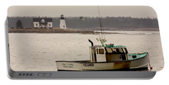 Prospect Harbor Lighthouse Portable Battery Charger