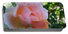 Protective Rose Portable Battery Charger