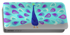 Proud As A Peacock Portable Battery Charger