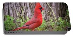 Proud Cardinal Portable Battery Charger