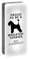 Proud To Be A Wheaten Portable Battery Charger