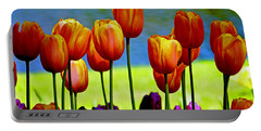 Proud Tulips Portable Battery Charger