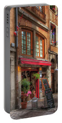 French Cafe Portable Battery Charger