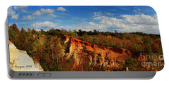 Providence Canyon Panorama Portable Battery Charger