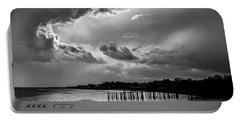 Provincetown Storm Portable Battery Charger by Charles Harden