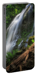 Portable Battery Charger featuring the photograph Proxy Falls by Cat Connor