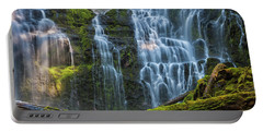 Proxy Falls Dappled In Light Portable Battery Charger