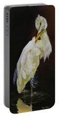 Portable Battery Charger featuring the painting Prudence by Phyllis Beiser