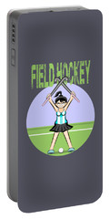 Field Hockey - Argentine Lioness Portable Battery Charger