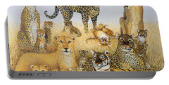 The Big Cats Portable Battery Charger