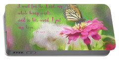 Psalm 130 Portable Battery Charger
