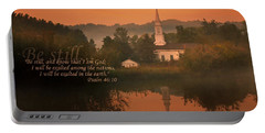 Psalm 46.10 Portable Battery Charger