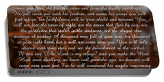 Psalm 91 Portable Battery Charger