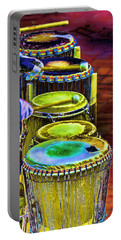 Psychedelic Drums Portable Battery Charger