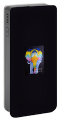Psychedelic Elephant  Portable Battery Charger