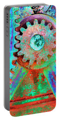 Psychedelic Gears Portable Battery Charger