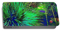 Psychedelic Yuccas. #plant #yucca Portable Battery Charger