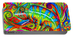 Psychedelizard Portable Battery Charger