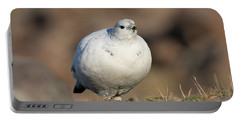 Ptarmigan Going For A Stroll Portable Battery Charger