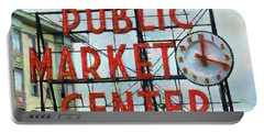 Public Market Center Portable Battery Charger