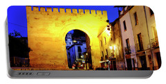 Portable Battery Charger featuring the photograph Puerta De Elvira by Fabrizio Troiani