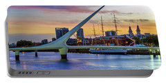 Puerto Madero At Twilight 2 Portable Battery Charger