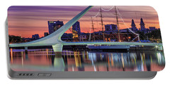 Puerto Madero At Twilight Portable Battery Charger