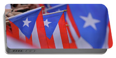Puerto Rican Flag Portable Battery Charger