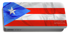 Puerto Rico Flag Portable Battery Charger